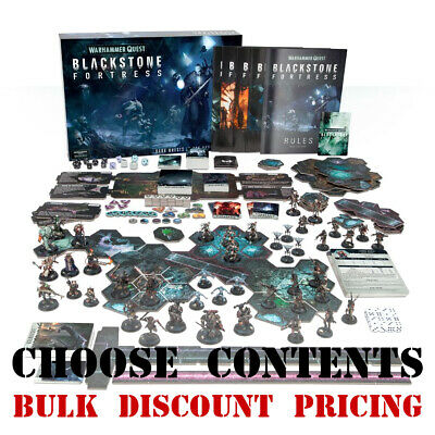 *Multi-listing* Warhammer Quest 40k Blackstone Fortress assorted contents (ENG)