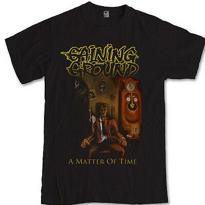 GAINING GROUND a mater of time merch tee rock band  S M L XL 2XL 3XL t-shirt
