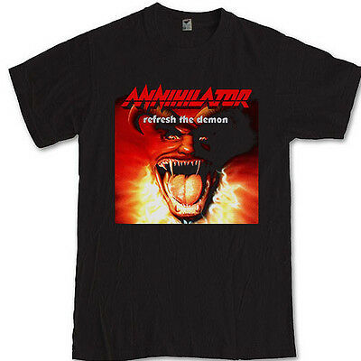 ANNIHILATOR merch tee heavy metal band Jeff Waters S M L XL 2XL 3XL t-shirt