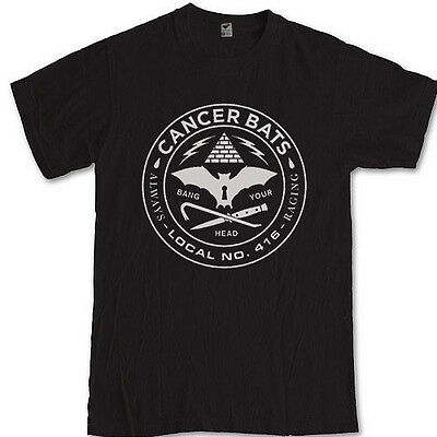 CANCER BATS merch tee hardcore punk band Liam Cormier S M L XL 2XL 3XL t-shirt