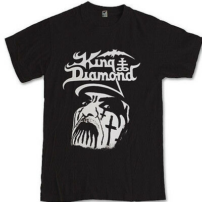 KING DIAMOND merch tee Mercyful Fate heavy metal BAND S M L XL 2XL 3XL t-shirt