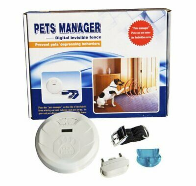 Pets Manager Digital Invisible Fence for Dogs Prevent Pets Depressing Behavior