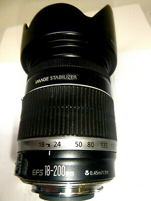 Canon Canon EF-S 18 mm - 200 mm f/3.5-5.6 IS;EF-S for Canon