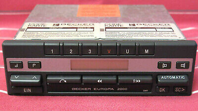 Original Becker Europa 2000 BE 1100 Autoradio mit zwei Codekarten Mercedes