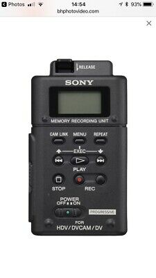 Sony HVR-MRC1 Memory Recording Unit 3x Card Included 33GB