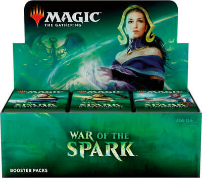 MTG Magic the Gathering War Of The Spark Booster Box SEALED & IN HAND!!