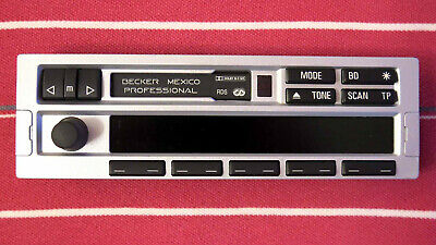 Bedienteil Bedienaufsatz Display Autoradio Becker Mexico Professional RDS BMW