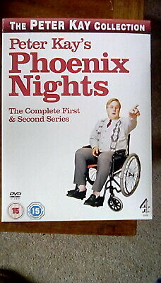 Peter Kay - Phoenix Nights  - Complete 1st and 2nd Series + Soundtrack CD