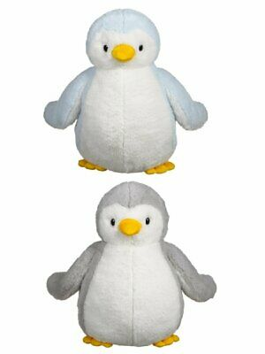 "GANZ ICECHILL PEGUINS 13"" HX11573 Set of 2 Blue & Gray Soft Huggable New wTags"