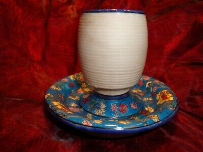 Pyrogene Flower Bar Matches Match Striker Holder French Style Porcelain