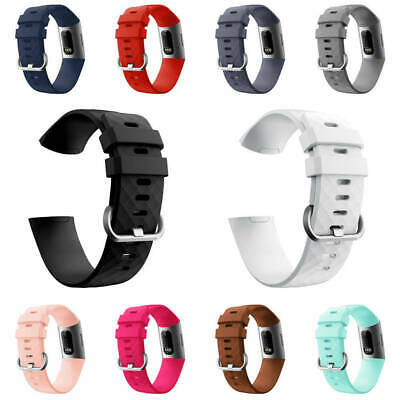 Silicone Replacement montre Bands Wrist Sangle Pour Fitbit Charge 3 Clearance