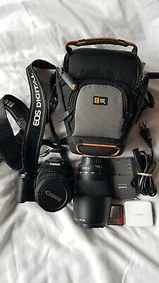 Canon 350D + 18-55mm + 70-300mm + accessories