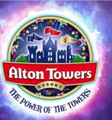 2 Alton Towers tickets for Tuesday 11th of June 2019 11/06/19
