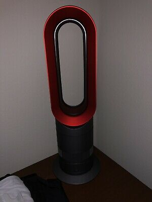 Dyson AM09 Hot + Cool Fan Heater - Iron and Red