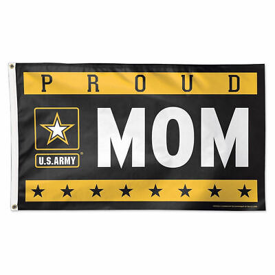 US Army Proud Mom Large Outdoor Flag