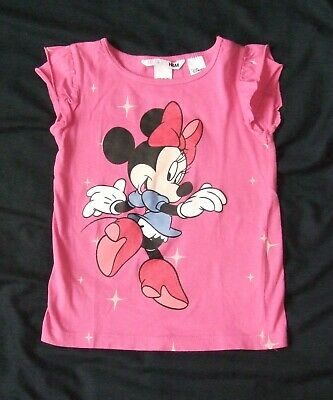 H&M Disney ♥ Minnie Mouse ♥ T-Shirt Gr.86/92 Sommer TOP