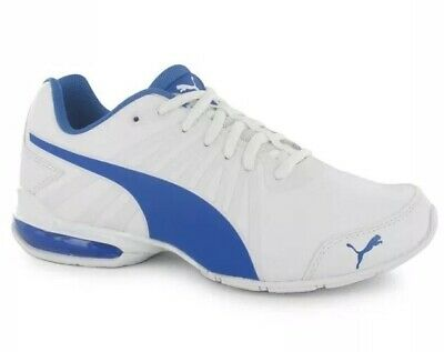 Puma Cell Kilter Junior Boys Girls Kids White Blue Trainers Size 6 Rrp £34.99