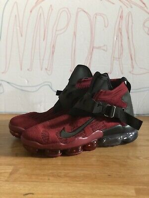 NIKE AIR VAPORMAX PREMIER FLYKNIT Team Red/Black 2018 AO3241-600 SIZE 11.5 US