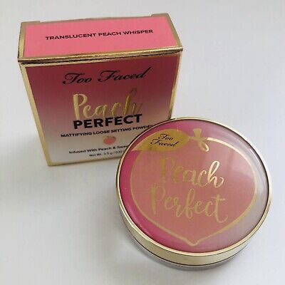 Too Faced Peach Perfect Setting Powder Travel Size 3.5g 🍑