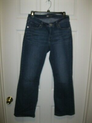 "Levis 529 Curvy Bootcut Stretch jean Size 10 Long 31"" inseam"
