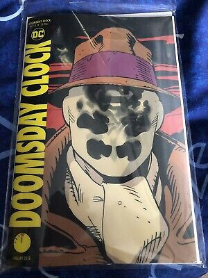 DC Comics Doomsday Clock #1 Lenticular Variant New