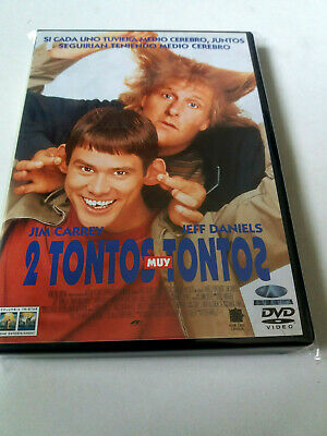 "Dvd ""2 Tontos Muy Tontos"" Peter Farrelly Jim Carrey Jeff Daniels"
