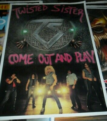 788494363ff75 TWISTED SISTER VINTAGE Come Out And Play 1986 Tour Tshirt Excellent ...