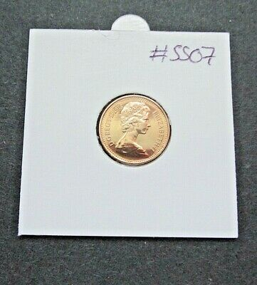 1973 PROOF 1/2p Half New Pence Coin  - From Royal Mint Set {Free P&P}