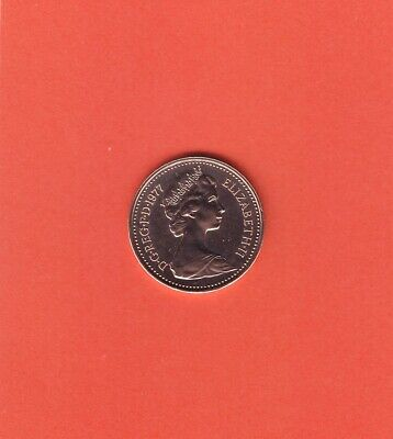 1977 PROOF 1/2p Half New Pence Coin  - From Royal Mint Set (Free P&P)