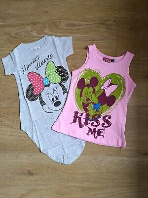 SALE Pack of Girls Tops Disney and Looney Tunes Bundle Minnie Mouse Mickey Mouse