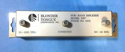 Blonder Tongue Sub Band Diplexer Model Dsv # 4375 School Surplus