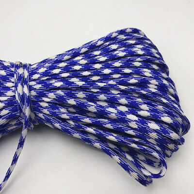 550 Paracord Parachute Cord Lanyard Mil Spec Type III 7 Strand Core 25FT HOT15