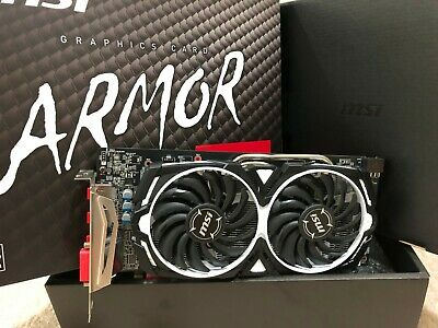 MSI RX 580 4GB ARMOR OC Graphics Card |  VR READY! GREAT COND! FREE SHIP