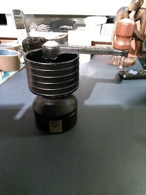Vintage SPONG Iron 'Moulin A Café' COFFEE GRINDER Designed By ROBERT WELCH - S23