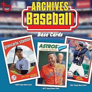 2018 Topps Archives Baseball Complete Your Set Pick 25 Cards From List