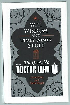 Wit, Wisdom And Timey-Wimey Stuff: The Quotable Doctor Who BBC 2014 G+ Condition