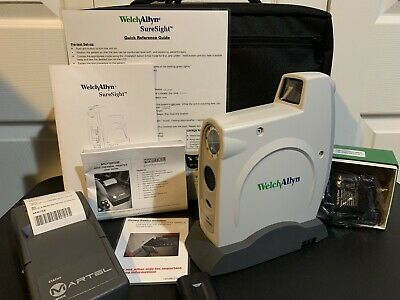 Welch Allyn SureSight 14001 Series Eye Vision Screener With Case and Martel Prin