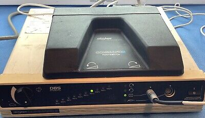 Stryker Command 2 Surgical Orthopedic 2296-1 Console with Command 2 Foot Switch