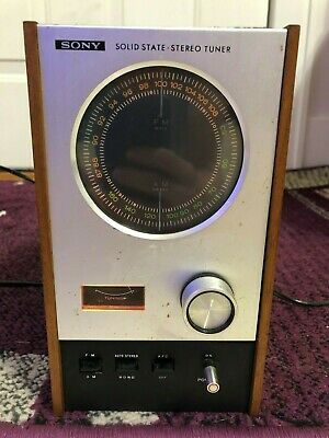 SONY ST-80W Tuner TESTED WORKING, Sony solid state stereo tuner