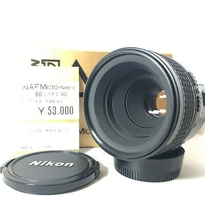 Near Mint in Box Nikon Micro NIKKOR 60mm f2.8 D AF Lens for F Mount From Japan
