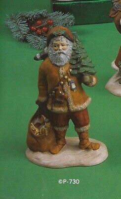 "Santa  - Frontier 8.5"" Tall Provincial No 730 Ceramic Mold"
