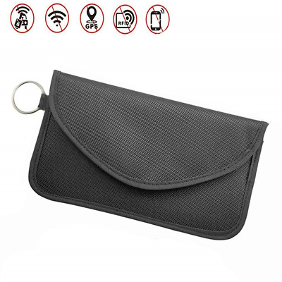 ZOORE Large Faraday Bag, Signal Blocking Pouch for Car Keys Phones, Faraday Bag