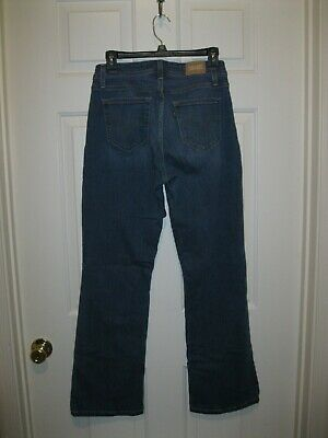 "Levis 529 Curvy Bootcut Stretch jeans Size 10  30"" inseam"