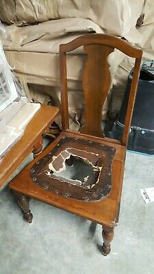 Childs Solid Wood Vintage Chair
