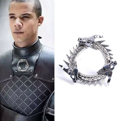 Game of Thrones Inspired Unsullied Dragon Brooch Grey Worm Pin Cosplay Prop Gift