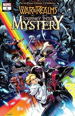 War of the Realms Journey into Mystery #1 LGY #656 2019 DIGITAL CODE ONLY Marvel