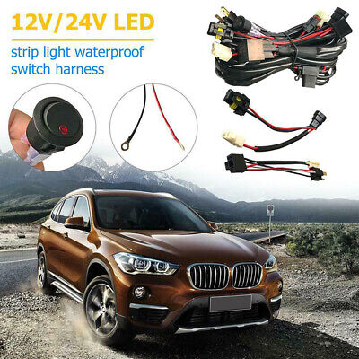 Switch Wiring Harness Beam For Narva LLA ON/OFF Universal Professional 12V Car