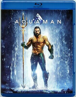 Aquaman (Blu-Ray Disc, 2019) Jason Momoa, Amber Heard, Willem Dafoe