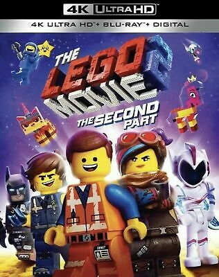 The Lego Movie 2:The Second Part (4K Ultra Hd+Blu-Ray+Digital+Slipcover) New