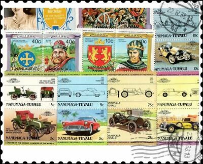 Nanumaga - Tuvalu : 20 Different Stamps Collection